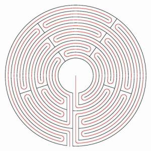 The golden thread inside the labyrinth