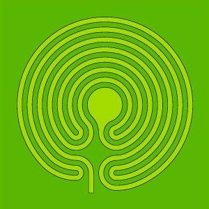 The mown labyrinth