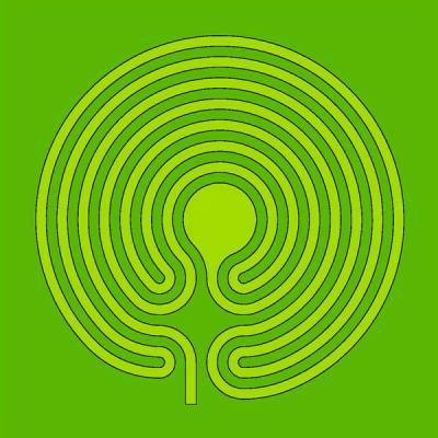 Das gemähte Labyrinth