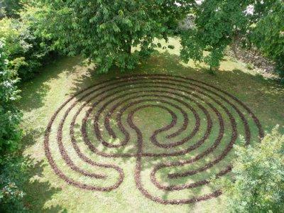Das fertige Labyrinth