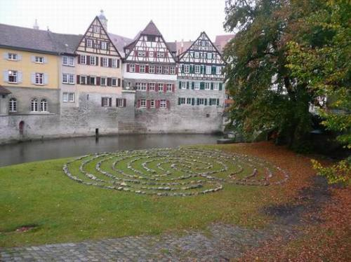 "Labyrinth of stones on the ""Grasbödele"""