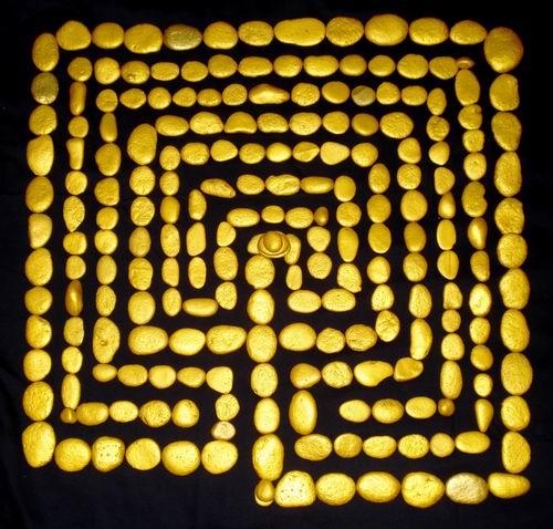 The rectangular classical labyrinth