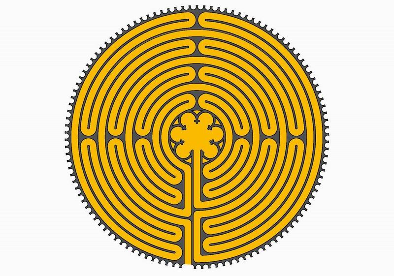 The Chartres labyrinth
