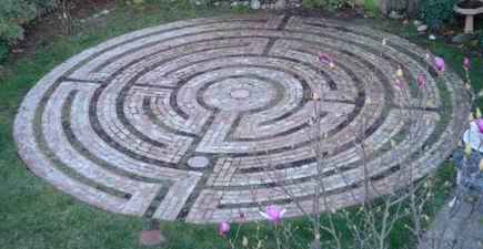 Das echte Santa Rosa Labyrinth © Lea Goode-Harris