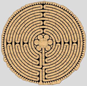 Plan mit freundlicher Erlaubis von Jeff Saward (labyrinthos.net)