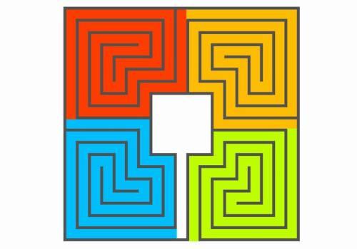 Ein römisches Labyrinth