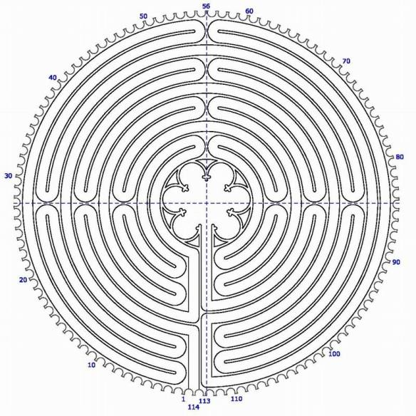 Grafik ganzes Labyrinth