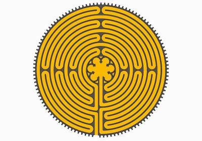 Das Chartres Labyrinth