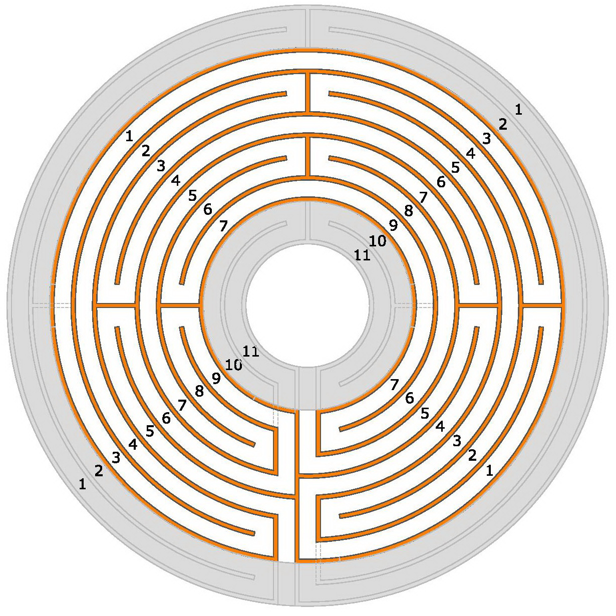 the heart of the chartres labyrinth is the classical labyrinth rh blogmymaze wordpress com