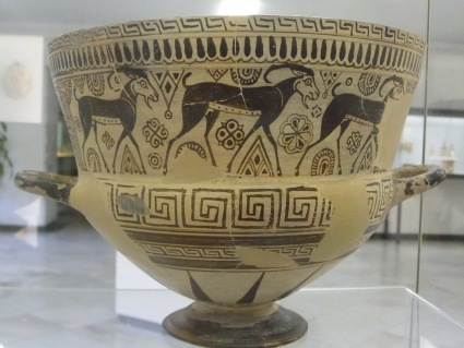 Chalice from Chios 600 BC