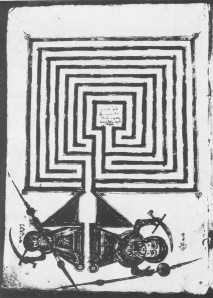 The town of Jericho as a labyrinth