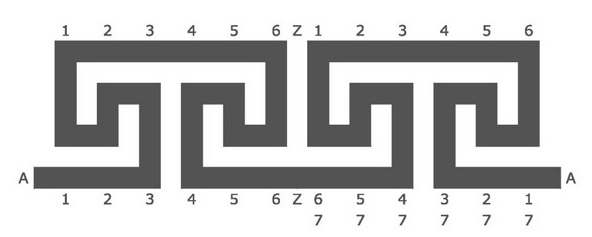 how to turn a meander into a labyrinth blogmymaze With both circuits above are totally unreliable and the following should be