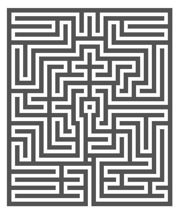 Town hall Gent: Labyrinth in the Pazificatizaal
