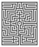 Rathaus Gent: Labyrinth im Pazificatizaal