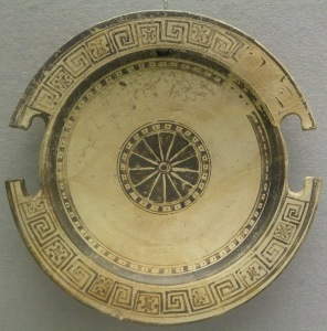 Aeolian plate from 575 BC