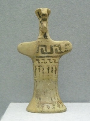Boeotian clay idol from 550 BC