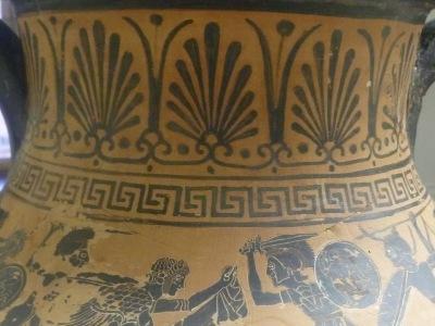 Etruskisch-Schwarzfigurige Amphora 470 v. Chr.