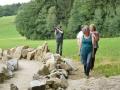 im Steinlabyrinth