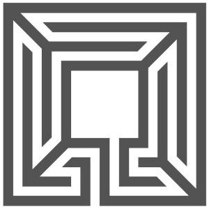 Ein dreigängiges fünfachsiges quadratisches Labyrinth