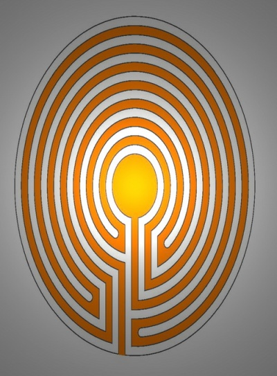 Labyrinth Easter egg type 5674 1238