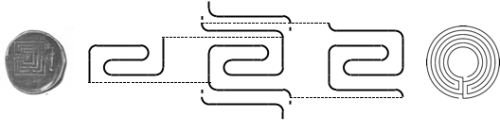 Figure 2. Labyrinths Contained in the Snail Shell Labyrinth
