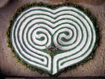 Figure 4. Heart labyrinth