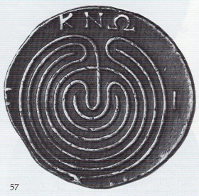 Figure 2. Silver  coin, Knossos