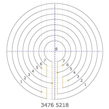 How To Make A Circular Classical 7 Circuit Labyrinth And