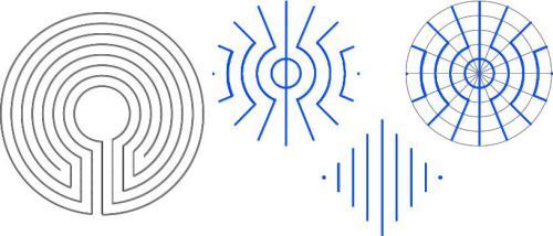 Die grösste Keimstruktur für ein Labyrinth mit 7 Umgängen