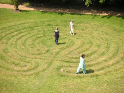 Labyrinth am Benediktushof