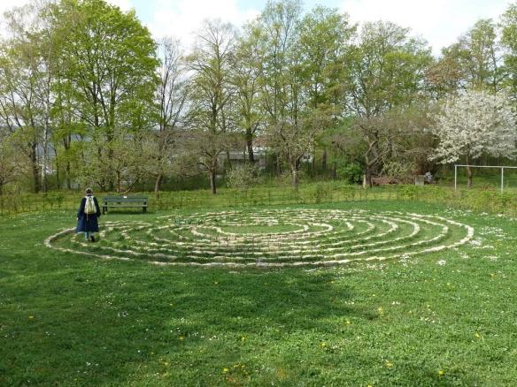 Das Labyrinth von St. Alfons Würzburg