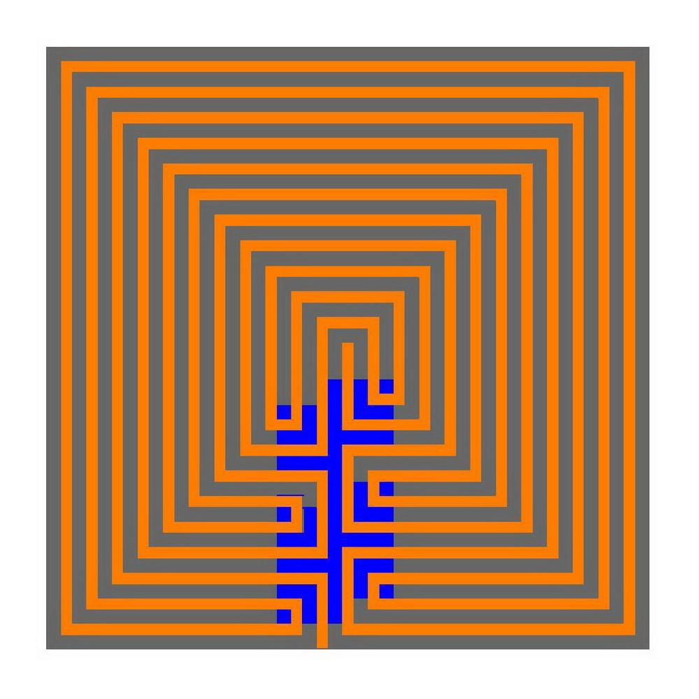 7 Circuit Cretan Labyrinth