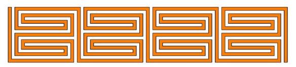 Roman labyrinth: meander-type as diagram