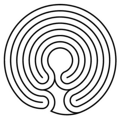 """Das """"figurbetonte"""" Knidos Labyrinth"""