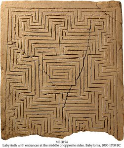The rectangular labyrinth MS 3194