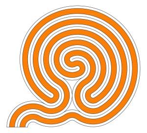 Babylonian Snail Shell Labyrinth