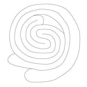 The visceral drawing on tablet VAT 744