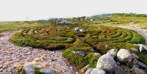 The Labyrinth on the Bolshoy Solovetsky Island