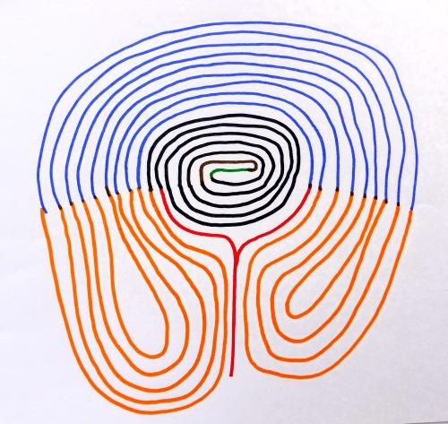 Wunderkreis von Eberswalde nach historischer Zeichnung