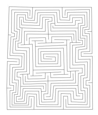 Das rechteckige Babylonische Labyrinth MS 3194