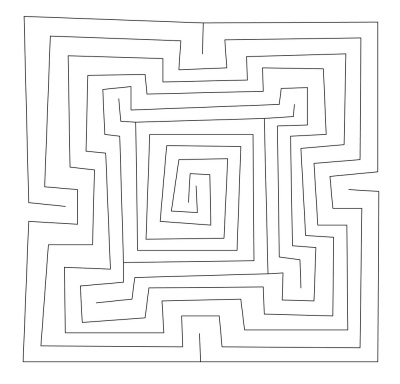The Square Babylonian Labyrinth MS 4515