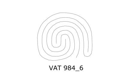 Eingeweidelabyrinth auf VAT 984