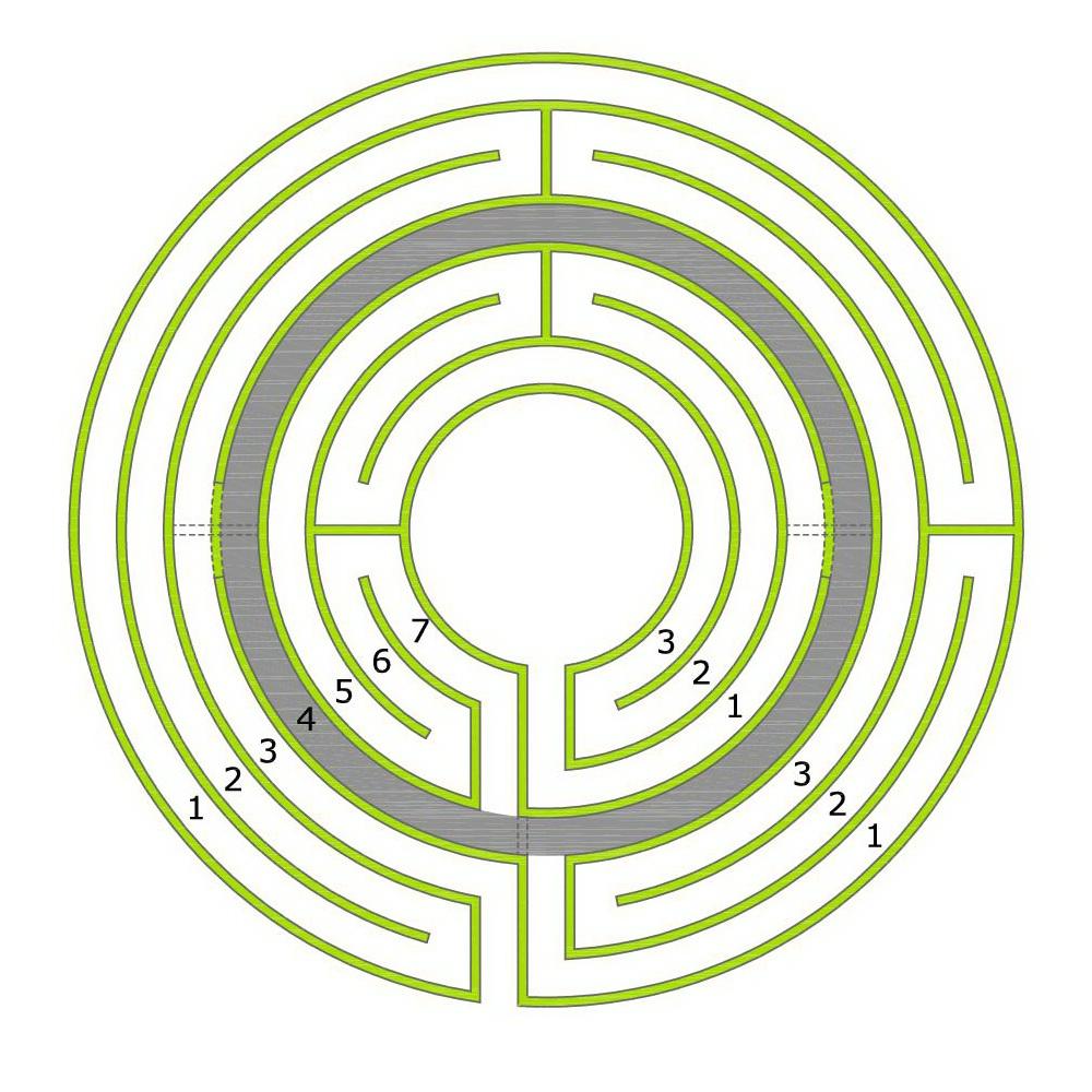 how to make a 3 circuit chartres labyrinth blogmymaze rh blogmymaze wordpress com