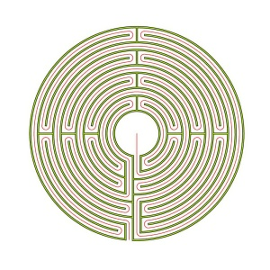 The Auxerre labyrinth