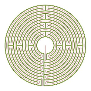 The Reims labyrinth