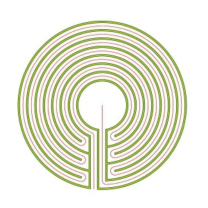 The circular 7 circuit labyrinth
