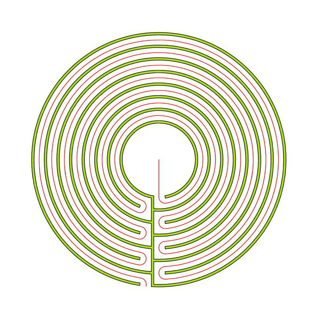 Blogmymaze Labyrinthblog By Erwin Reimann D And Andreas Frei Circuit Classical Labyrinth From A 5circuit Chartres The Circular 7
