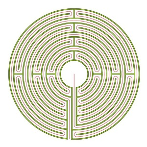 The complementary Reims labyrinth