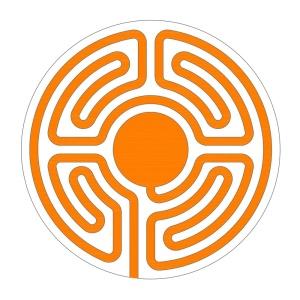 Noch ein neues Sektorenlabyrinth in runder Form