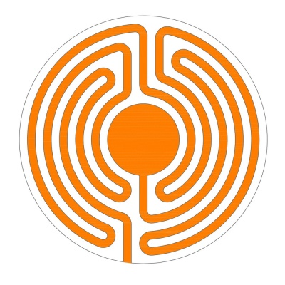 A new two-parted 5 circuit labyrinth